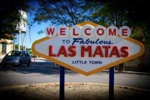 """Las Matas recupera su cartel """"Welcome Las Matas"""" (Foto de la comunidad de Facebook: Queremos De Vuelta El Cartel De Las Matas)"""