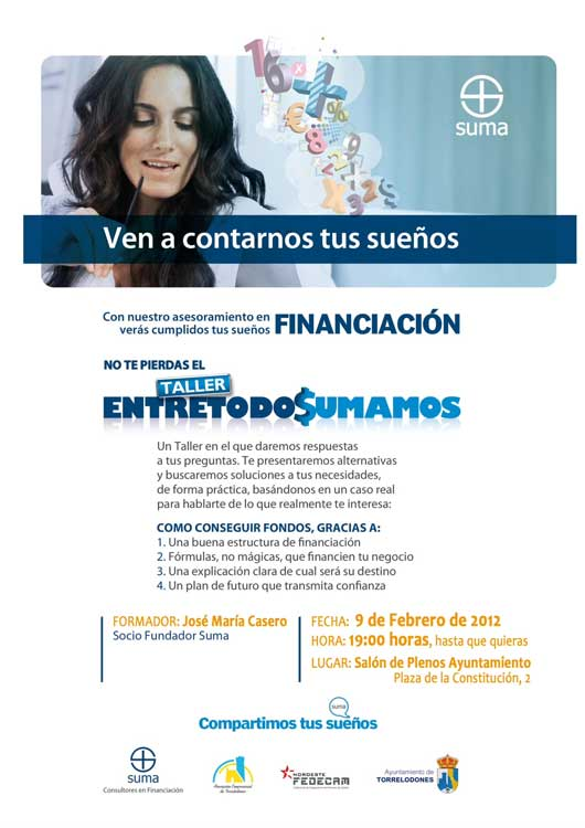 Taller de Financiación en Torrelodones