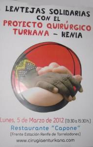 Lentejas Solidarias de Capone el 5-3-2012