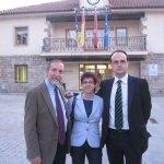 Barranco, Oliva y Díaz Bidart, tras la V entrega de Premios Rafael Martínez López