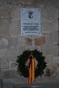 Homenaje a las víctimas del 11M (Foto: Ayto. Torrelodones)