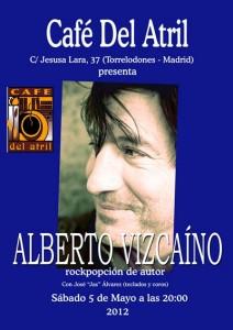 Alberto Vizcaino en Café del Atril