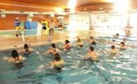 Hydroriding en el Centro de Natación del Polideportivo de Torrelodones