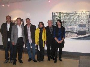José Miguel Palacio junto a miembros del Equipo de Gobierno