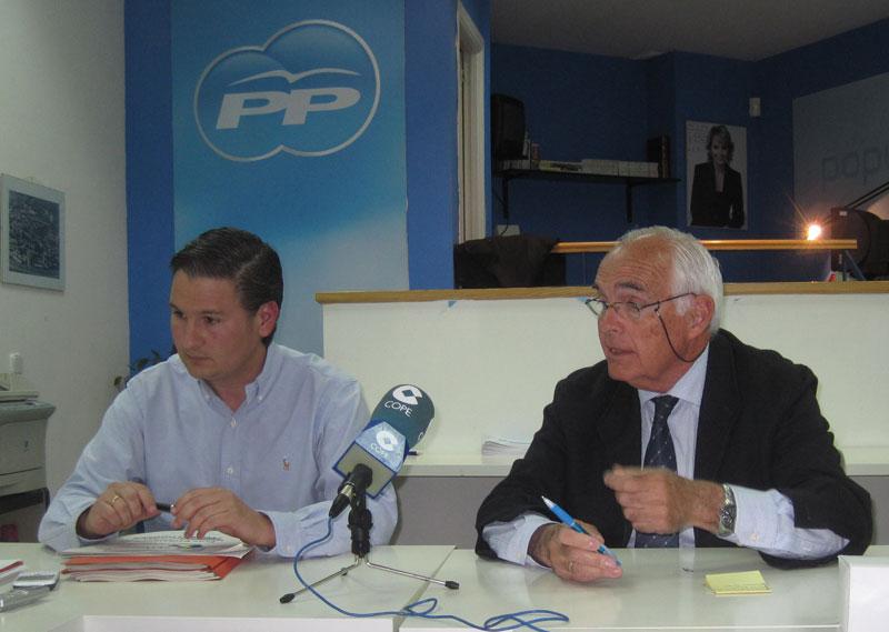 Francisco Carou, Javier Laorden y Rodolfo del Olmo
