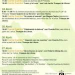 Semana Cultural del 23 al 27 de abril en la Casa de Cultura de Torrelodones