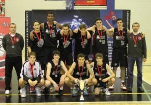 Cadete Masculino Club de Baloncesto Espacio Torrelodones