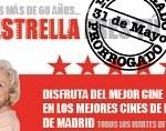 Cine a 1 euro para los mayores en Madrid