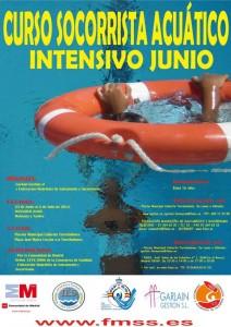 Curso de Socorrista en la Piscina Municipal de Torrelodones Junio/Julio 2012