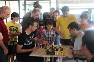 Máxima expectación en Torneo del Club de Ajedrez Torrelodones - Foto de Archivo -