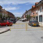 Calle Real durante la peatonalización del domingo 13-5-2012