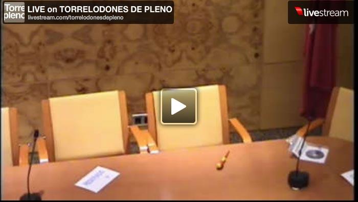 Pleno del Ayuntamiento de Torrelodones en directo