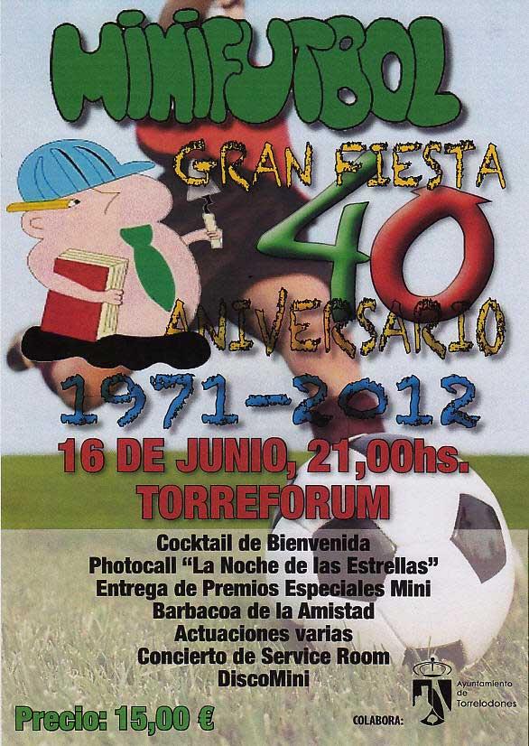 Gran Fiesta 40 aniversario Minifútbol, Torrelodones