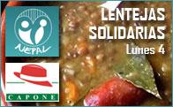 Lentejas Solidarias en el Restaurante Capone de Torrelodones