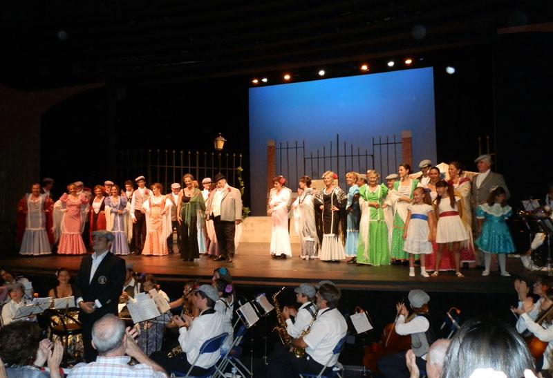 """Magnífica puesta en escena de """"Alma Castiza"""" en Torrelodones"""