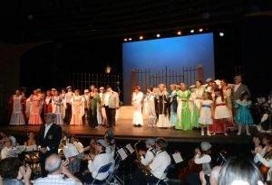 """Magnífica puesta en escena de """"Alma Castiza"""" en Torrelodones (Fiestas del Carmen 2012)"""