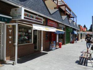 Centro comercial en calle Jesusa Lara