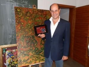 Fernando Ahumada (inglescafeyte.es) en Torrelodones