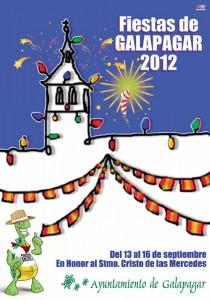 Portada Programa de Fiestas Patronales de Galapagar 2012