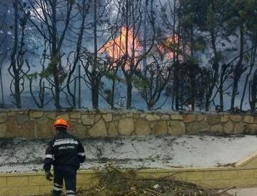 Incendio en Robledo de Chavela, agosto 2012