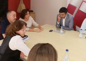 Reunión PSOE Torrelodones con Tomás Gómez