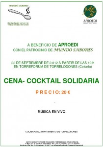 Cena-Cocktail a beneficio de APROEDI en Torrelodones