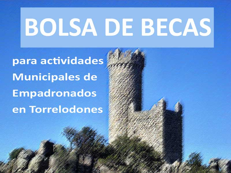 Becas para empadronados en Torrelodones