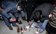 Sanciones por hacer botellón en la vía pública - Comunidad de Madrid