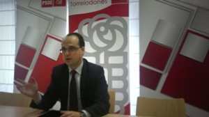 Juan I. Díaz Bidart, portavoz del Grupo Municipal Socialista de Torrelodones (Foto: Archivo)