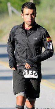 Carlos Llano, corredor de ultradistancias de Torrelodones
