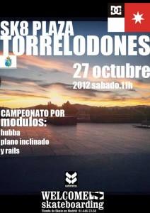 Campeonato de Skate en Torrelodones 27-10-2012