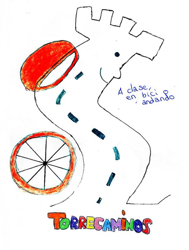 Logo ganador para el Camino Escolar de Torrelodones