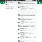 Conversación en Twtter en la que el Ayto. de Galapagar se compara con Torrelodones