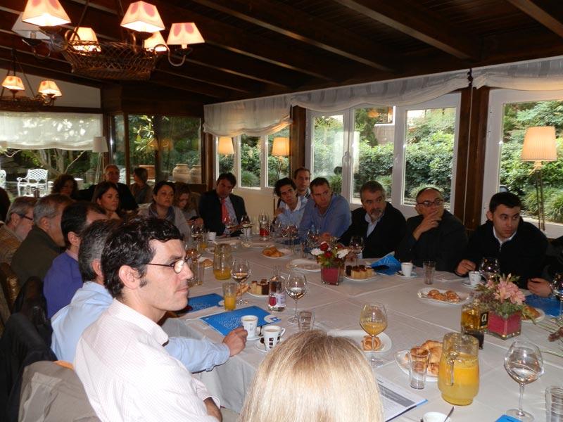 Desayuno Asociación Empresarial de Torrelodones y Banco de Sabadell