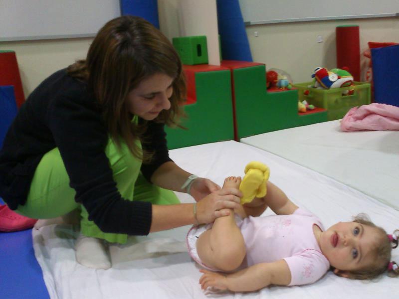 La pequeña Claudia Alonso