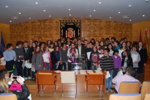 Entrega de diplomas a los alumnos de la Escuela Municipal de Idiomas 2012