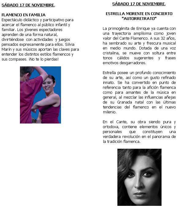 Rueda de Prensa Presentación del IX Festival de Flamenco de Torrelodones