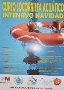 Socorrista Acuático Curso Intensivo de Navidad 2012 en Torrelodones