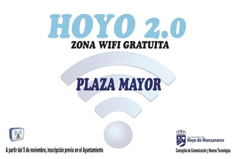WiFi gratis en Hoyo de Manzanares