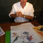 Fernando Ahumada Barth explica su original método para enseñar Inglés + Dibujo de Cómic a los niños
