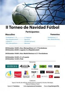 II Torneo de Navidad de Fútbol en Torrelodones