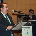 """D. Alfonso Tezanos en la entrega de Premios """"Lodón de Oro 2012"""" de la Asociación Empresarial de Torrelodones"""