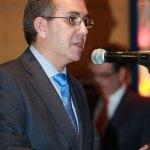 """Don Ángel Luis Martín Martín en la entrega de Premios """"Lodón de Oro 2012"""" de la Asociación Empresarial de Torrelodones"""