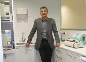 Juan Esteve, director del moderno Centro Dental Milenium Torrelodones - Red Sanitas Dental