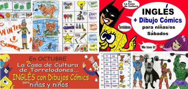 Curso de Inglés + Cómic para niños, by Fernando Ahumada Barth en la Casa de Cultura de Torrelodones