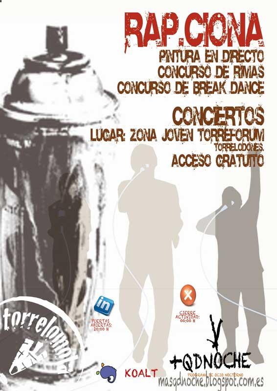 Rap.ciona actividad programa +QDENOCHE Torrelodones 14-12-2012