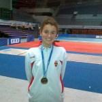 Esgrima: Nani Betegón, Medalla de Oro en los Campeonatos Mediterráneos de Argelia