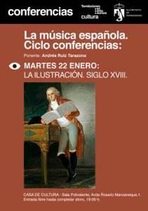 Ciclo Conferencias sobre La Música Española, por Andrés Ruiz Tarazona