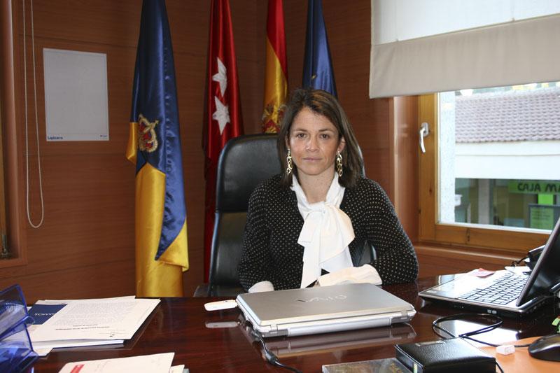 Elena Biurrun, Alcaldesa de Torrelodones (Foto: Ayto. de Torrelodones)