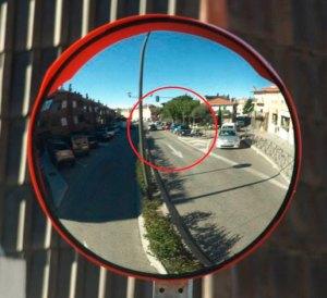figura-2 Espejo Av. Valladolid, Torrelodones